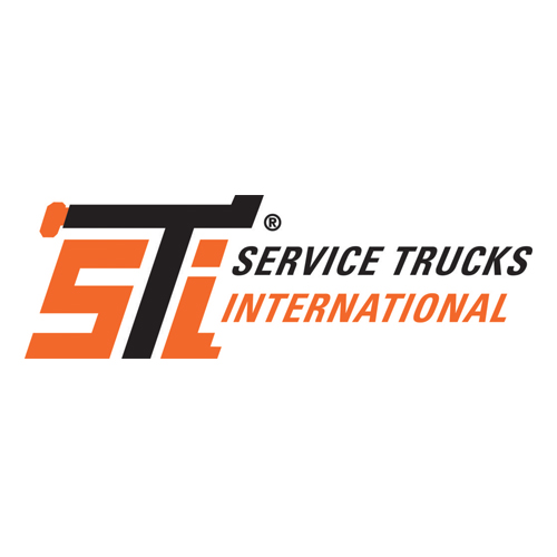 STI Service Trucks International Logo