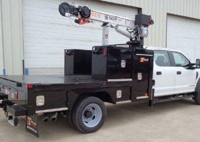 Custom Bodies Crane Truck