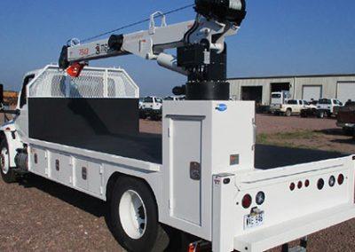 Custom Truck with Crane