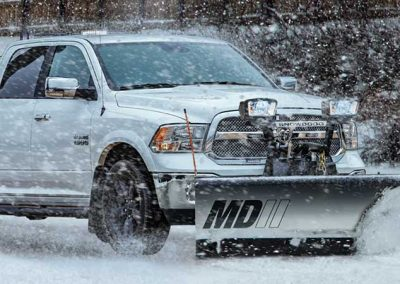 MDII SnowDogg Snow Plow for Pickup
