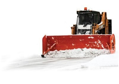 Snow Pusher Skid-Steer Model