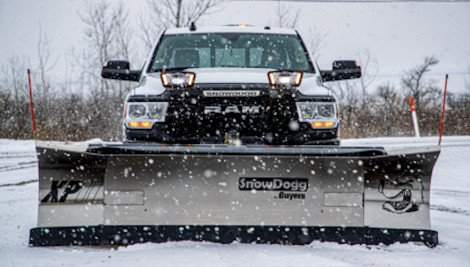 SnowDogg Straight Blade Snow Plow